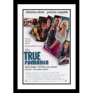 True Romance Framed and Double Matted 32x45 Movie Poster