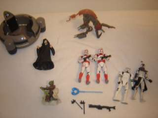 STAR WARS ACTION FIGURES TOYS LOT 2004   2008 LFL +MORE