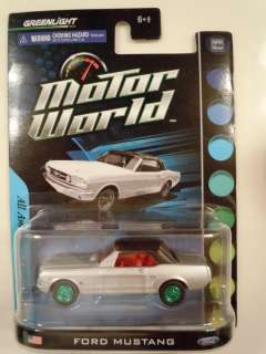 Green Machine Ford Mustang 1 of 60 Motor World American Series by