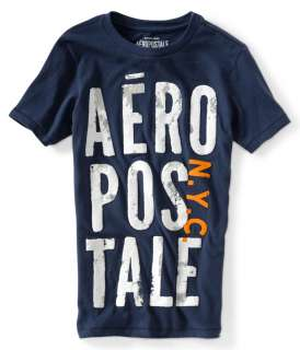 aeropostale mens aero puff stacked graphic t shirt