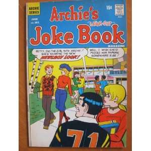 Archies Joke Book #161, June 1971 Archie Comic