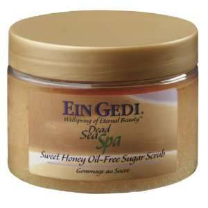 Dead Sea Sweet Honey Oil Free Sugar Scrub Beauty