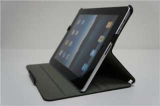 Black Carbon Fiber Flip Cover Pouch Sleeve for iPad new