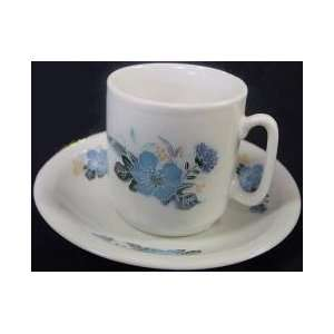 Demitasse cups and saucers set of 6 for Greek Coffee/Espresso