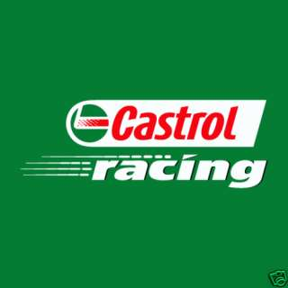 Castrol NASCAR Racing Car Bumper Sticker 4X4