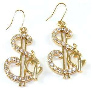 Signs Earrings w/ Phat Baby Cat Hip Hop Style Arts, Crafts & Sewing
