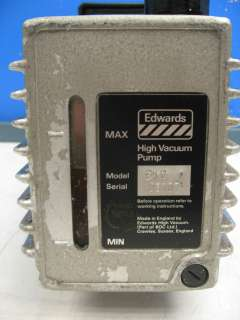 Edwards 12 E2M 12 Rotary Vane Mechanical Vacuum Pump