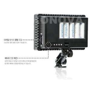 126 LED Lighting PANEL for HD Video DV Camcorder 7D D90 Electronics