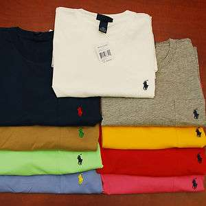 Polo Ralph Lauren Mens POCKET T Shirt Tee T Shirts Men Shirts All