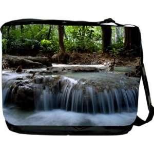 Rikki KnightTM Waterfall design Messenger Bag   Book Bag