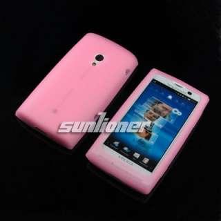 Sony Ericsson XPERIA X10 Silicone Case +LCD Screen Film
