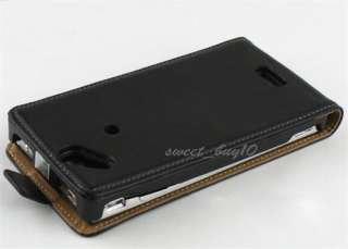 Leather Case Skin Cover for Sony Ericsson Xperia Arc X12 S Accessory