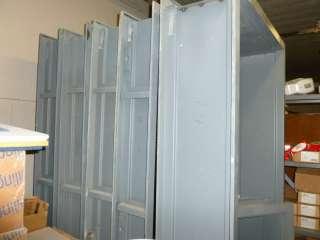 Welded Steel Door and 2 Window Frames for Concrete Block Walls