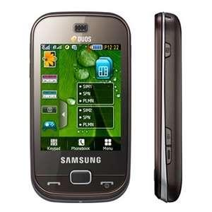 Samsung B5722 GSM Quadband Phone (Unlocked) Dark Brown (B5722 BRN)