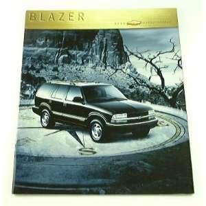 2000 00 Chevrolet Chevy BLAZER Truck SUV BROCHURE LT LS