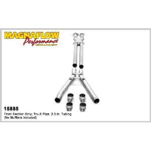 com Magnaflow Tru X Stainless Steel Crossover Pipes   2008 Chevrolet