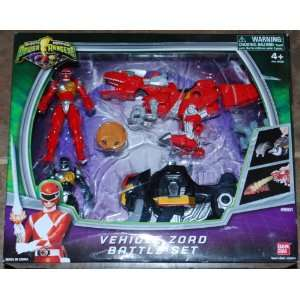 Power Rangers Mighty Morphin Vehicle Zord Battle Set 2Pack
