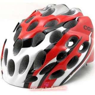 2011 NEW BICYCLE HERO BIKE HELMET CYCLING Red with Visor