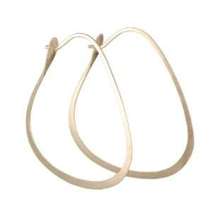 MELISSA JOY MANNING  Triangle Hoop Jewelry
