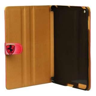 Executive FERRARI Leather Flip Case/Cover/Stand for Apple iPad 2