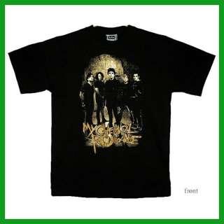 MY CHEMICAL ROMANCE T Shirt s23 Black Size L