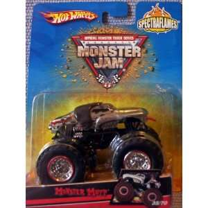 2007 Hot Wheels SPECTRAFLAMES Monster Jam *CHROME* #35/70 Monster Mutt
