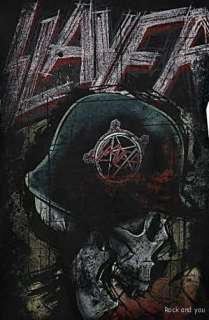 SLAYER SKULL thrash metal rock T Shirt XS NWT