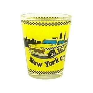 New York Shot Glass   NYC Taxi, New York Shot Glasses, New York City