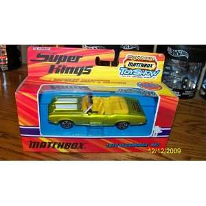 Classic Matchbox Super Kings 70 Olds 442 Convertible 12th