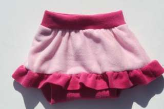 Fleece Skirt Diaper Cover   Sissy lgbt AB/DL BPS 609224267338