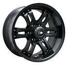 18X9 HD TUNING SATIN BLACK WHEELS RIMS 6X135 +25 FORD F150 EXPEDITION