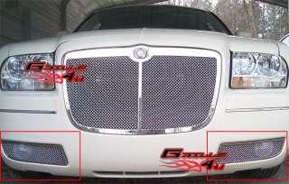 05 10 Chrysler 300 Bumper Stainless Mesh Grille Insert