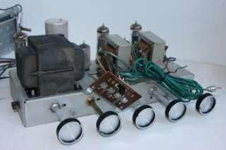 SILVERTONE 2072 HI FI STEREO 6BQ5 EL84 TUBE AMPLIFIER GUITAR TUBE AMP