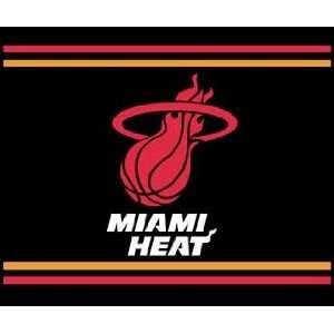 Miami Heat Throw Blanket Sports & Outdoors