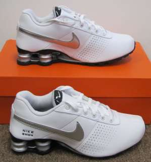 Nike Shox Deliver Youth Shoes Boys/Girls Size 4 Youth White Sneakers