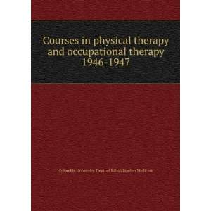 Occupational Therapy physics subjects