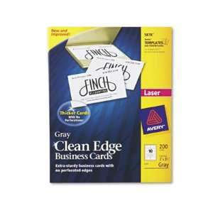 Avery Two Side Clean Edge Printable Business Cards AVE8871