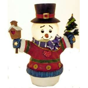 San Francisco Music Box Company   Mini Snowman Water Globe