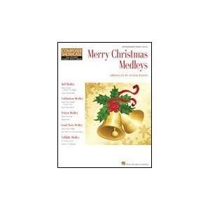 Hal Leonard Merry Christmas Medleys   Composer Showcase
