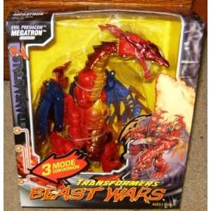 Beast Wars Evil Predacon Megatron Dragon Action Figure: Toys & Games