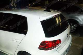 Fiber VW GOLF 6 GTI 6 SEDEN SHARK FIN ANTENNA SPOILER EXCLUSIVE