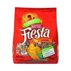 Kaytee Fiesta Conure Bird Food Case of 6 4.5lb. Bags: Pet