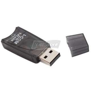 USB Micro SD TF T Flash Memory Card Reader/Writer Black