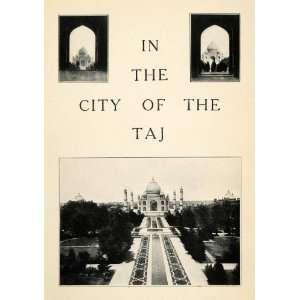 Print Taj Mahal India Monument Mughal Architecture Agra Shah Jahan
