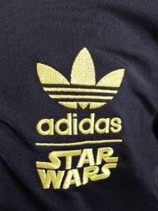 Star Wars Superstar Bobsled Track Top Jacket SMALL Hoth Running
