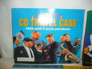 Cigarettes Ad Joe cool cd case Camel store sign old joes place