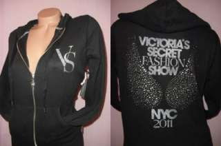 Victorias Secret SUPER MODEL BLING HOODIE Crystal ANGEL Wing