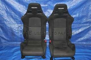 MITSUBISHI LANCER EVOLUTION X GSR OEM RECARO FRONT SEATS SRS CZ4A EVOX