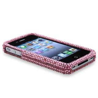Diamond CRYSTAL Bling Case COVER+LCD FILM for IPHONE 4 G 4GS 4S