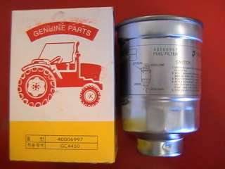 Compact Tractor Fuel Filter for CT 41 CT47 CTU50 CTU 55 LS40006997